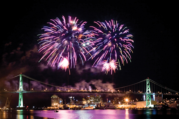 MACPASS Natal Day Fireworks