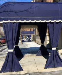 Awnings on Apartments